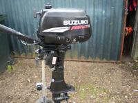 suzuki 4 stroke .4 hp. standard shaft
