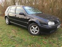 2004 VW GOLF FINAL EDITION - MOT FAIL - SPARES OR REPAIRS