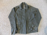 Ladies Thick cotton Military Style Jacket. Size M. £3.00
