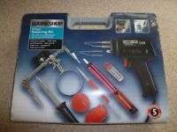 WORKSHOP 9 PIECE SOLDERING KIT - BRAND NEW - UNOPENED