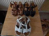MARKS AND SPENCERS SANDALS WIDER FIT