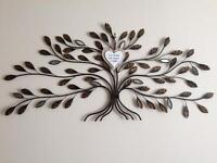 Leaf effect wall art (large)
