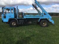 Volvo 18 ton skip loader just out of mot good working order £2000 no VAT