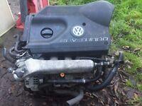 vw golf gti turbo,audi a3 turbo 20 valve turbo engine,£200,no offers
