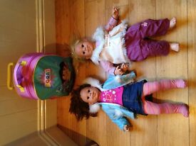 Roxy and Rosie toddler dolls