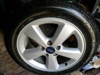 Ford alloy +TYRE