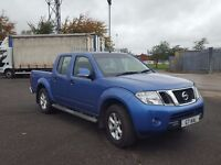 2011 nissan navara double cab pickup 2.5di loadliner towbar car condition one owner