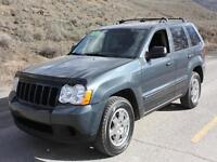 2008 JEEP GRAND CHEROKEE LAREDO 4X4 NOW REDUCED $13770!!