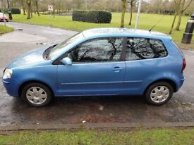 05 vw polo vgc fsh 2 lady owners mot end of dec 111000 miles drives mint sell/swap for motorcycle ?