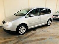 Vw touran 1.9 tdi se in excellent condition throughout full service history 7 seater mot September