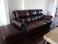 Used real leather sofa. Fantastic condition.