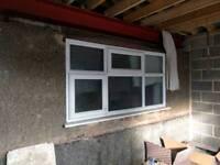 Double glazed/ UPVC windows x 4