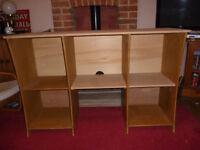DJ deck desk table storage unit