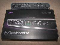 AVID Digidesign MBox 3 PRO , USB Audio / Midi interface for PC and MAC.