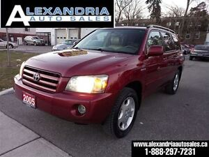 2005 Toyota Highlander LIMITED 7 passengers leather roof