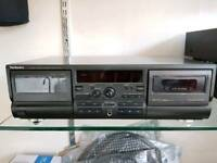 Technics RS-TR474 Twin Cassette Player/Recorder
