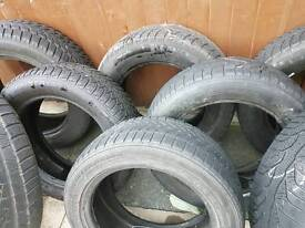 Brand new tyres various sizes winter tyres etc