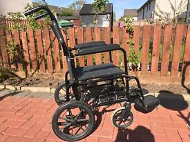 Lightweight Foldable Transit Wheelchair for Sale