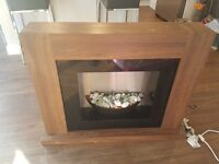 Electric fire from next