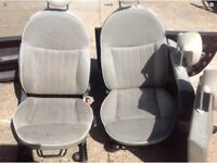 Fiat 500 full set of seats and door cards