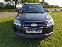 2010 (60reg)SUV Chevrolet Captiva 2.4 LS 50,000 miles Manual,134 bhp Petrol BARGAIN!!!