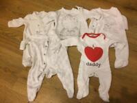 Unisex newborn suits