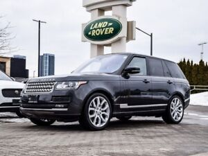 2017 Land Rover Range Rover SUPERCHARGED W/ REMOTE START APP