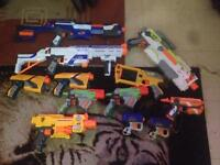 Joblot of nerf guns