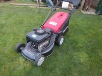 Mountfield Lawnmower 460/ES electrical start, self propelled robust and in good working order