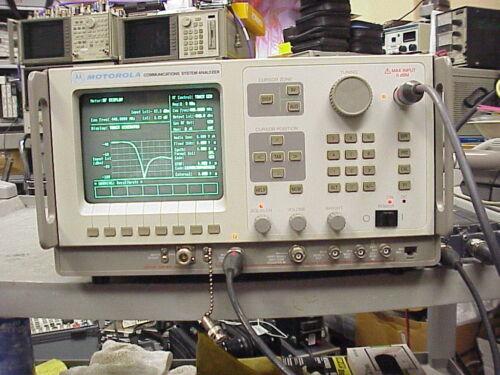 General Dynamics /Motorola R2600B Digital Communications Analyzer, WITH TRACKING
