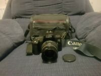 Canon 1000fn slr 35mm zoom full frame film camera retro pre digital bundle