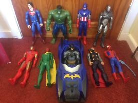 Large superhero/marvel figure bundle
