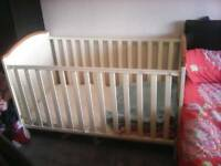 Large baby cot