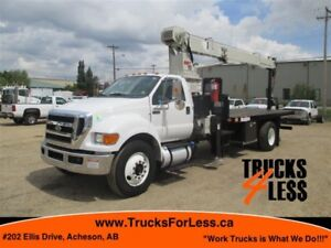 2012 Ford F-750 XL, 15 TON NATIONAL CRANE!!!