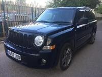 Jeep Patriot 2.0 CRD Limited Station Wagon 4x4 5dr HPI CLEAR+6 MONTHS WARRANTY