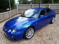 MG ZT 190+ 2.5 V6 2001 Petrol Manual Trophy Blue Saloon with Harmon Kardon Speakers Sub & Amp