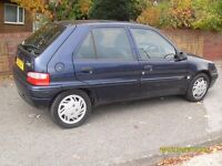 CITROEN SAXO 1.5cc DIESEL..5 DOORS .START AND DRIVE...SPARE OR REPAIR
