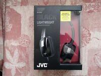 JVC HA-S650 Headphones Black