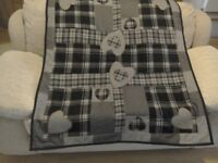 Small throw or blanket