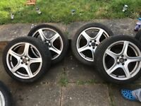 215/45/17 Golf alloys may fit other cars
