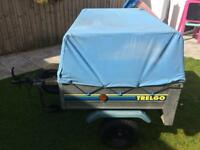 Trelgo Camping Trailer with extended frame