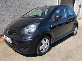 TOYOTA AYGO , 2009 REG **ONLY 37000 MILES + HISTORY*FINANCE AVAILABLE*ONLY £20 ROAD TAX*MOT*WARRANTY