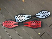 Rip Stick, Razor brand with Twist and Go Caster Boards