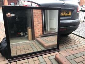 Large mirror 108cm x 98cm