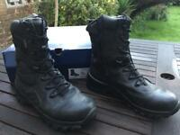 Bates Men's Delta Gore-tex 9 Waterproof Boot Black Size 8