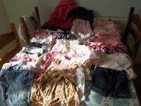 Big bundle of baby girls clothes 6 - 9 months