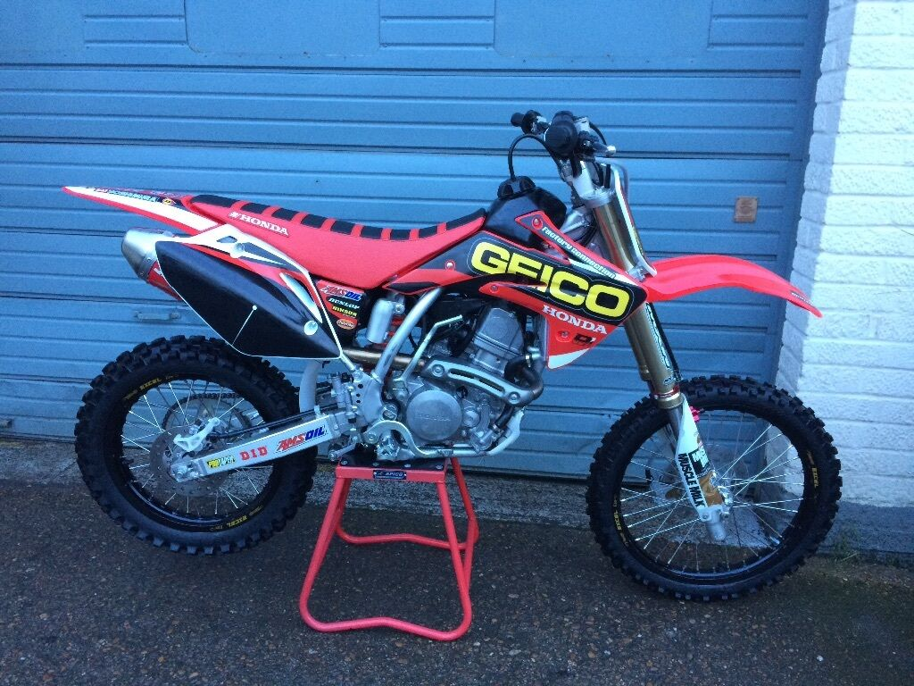 2016 honda crf 150 r geico race edition crf150 in brentwood essex gumtree. Black Bedroom Furniture Sets. Home Design Ideas