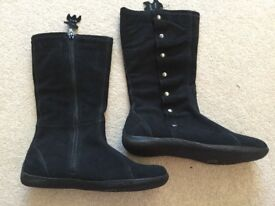 New Look black Suede boots with size stud detail Brand New shoe size 4 / 37