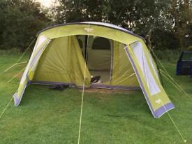 Vango taiga 500xl airbeam tent plus camping gear