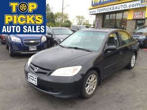 2005 Honda Civic VEHICLE BEING SOLD ON AN AS IS BASIS!